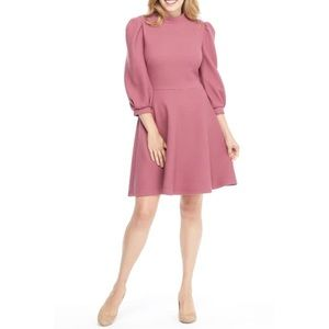 Gal Meets Glam Maggie Knit Fit & Flare Dress